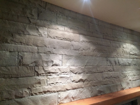 Tennessee grey sandstone veneer